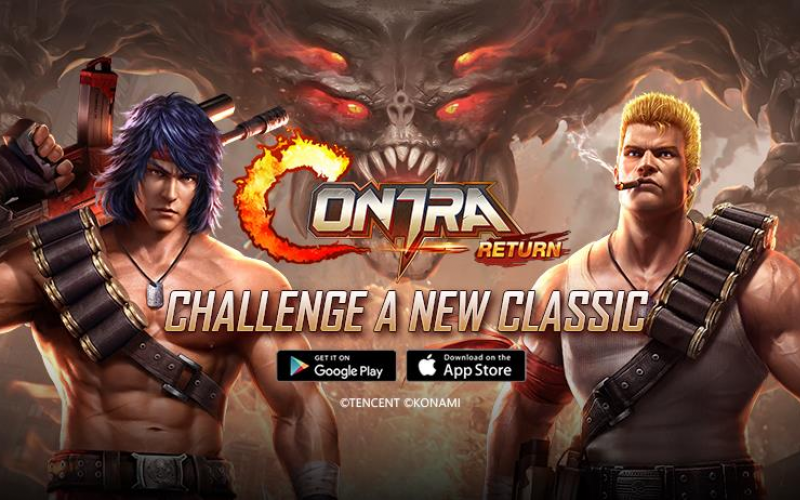 Contra: Return debuts in South East Asia Mobile Game now available