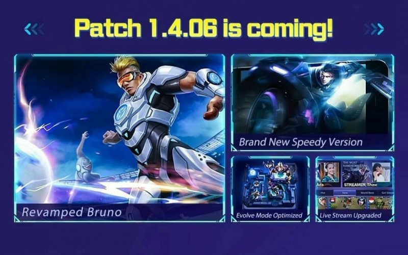 Mobile Legends Patch 1.4.0.6