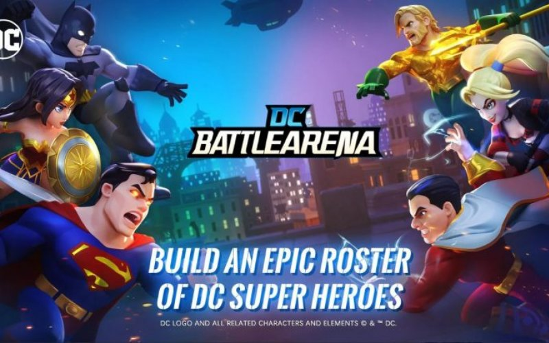 DC and Marvel MOBA War Has Just Begun: DC Battle Arena To Be Launched Soon