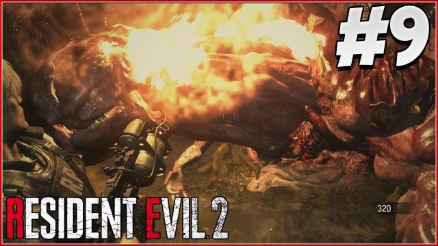 FLAMETHROWER! - RESIDENT EVIL 2 REMAKE Gameplay Part 9! (RE2 LEON)