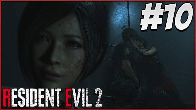 LEON AND ADA KISS! - RESIDENT EVIL 2 REMAKE Gameplay Part 10! (RE2 LEON)