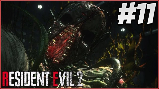 IVY AND THE NEST! - RESIDENT EVIL 2 REMAKE Gameplay Part 11! (RE2 LEON)